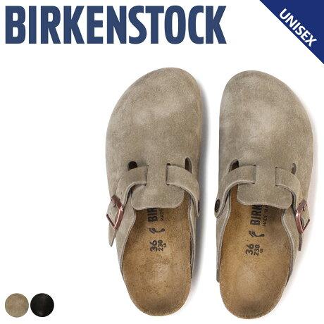 BIRKENSTOCK BOSTON ボストン メンズ レディース ビルケンシュトック ビルケン サンダル 細幅 普通幅 クロッグサンダル スエード [予約商品 6/21頃入荷予定 再入荷] [186]