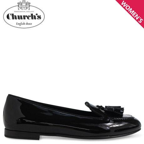 Church's 靴 チャーチ レディース ローファー NINA LOAFERS ブラック DS0001 [3/15 新入荷]