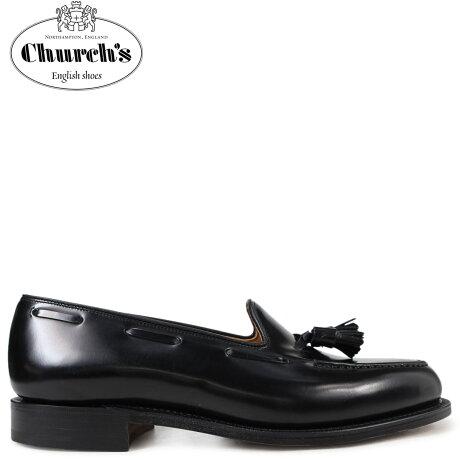Church's 靴 チャーチ ローファー メンズ KEATS 2 MOCASSINI ブラック EDB002 [3/15 新入荷]