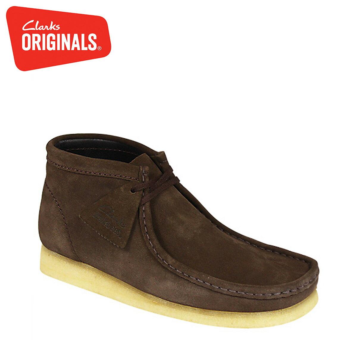 Clarks ORIGINALS ワラビー ブーツ メンズ クラークス WALLABEE BOOT オリジナルズ 26103658 [11/4 再入荷]