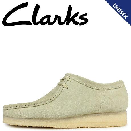 クラークス Clarks ワラビー ブーツ メンズ レディース WALLABEE メープルスエード ベージュ 26133278 [1/21 追加入荷]