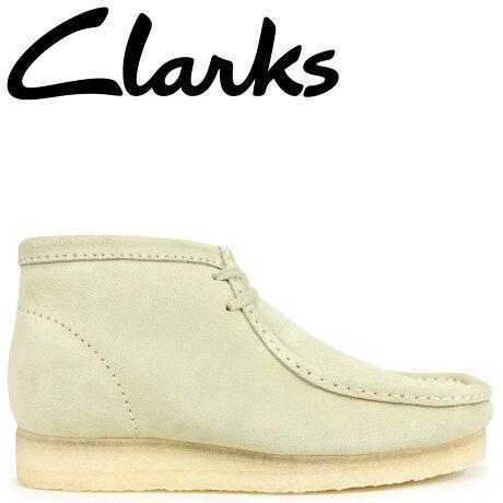 クラークス ワラビー ブーツ メンズ Clarks WALLABEE BOOT 26133283 メープル [予約商品 9/18頃入荷予定 新入荷]
