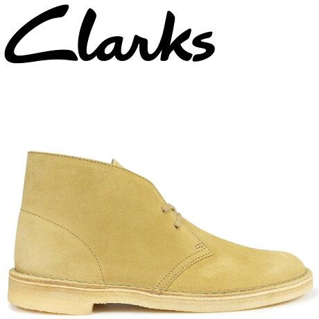 クラークス デザートブーツ メンズ Clarks DESERT BOOT 26138233 ライトブラウン [予約商品 9/18頃入荷予定 新入荷]
