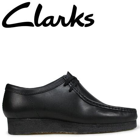 クラークス ワラビー ブーツ メンズ Clarks WALLABEE 26138269 ブラック [予約商品 9/18頃入荷予定 新入荷]