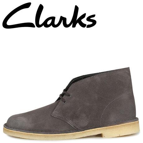 クラークス Clarks デザートブーツ メンズ DESERT BOOT ダーク グレー 26144232 [予約商品 10/11頃入荷予定 新入荷]