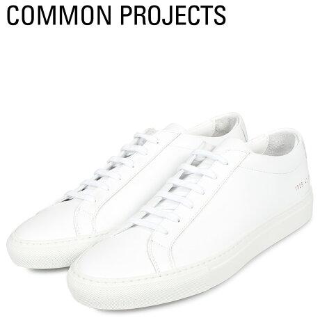 コモンプロジェクト Common Projects アキレス ロー スニーカー メンズ ACHILLES LOW ホワイト 白 1528-0506 [予約商品 10/18頃入荷予定 新入荷]