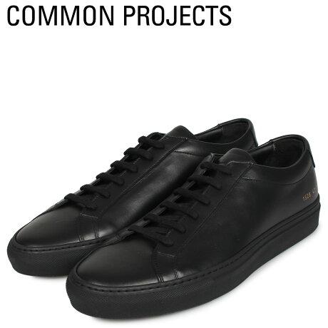 コモンプロジェクト Common Projects アキレス ロー スニーカー メンズ ACHILLES LOW ブラック 黒 1528-7547 [予約商品 10/18頃入荷予定 新入荷]