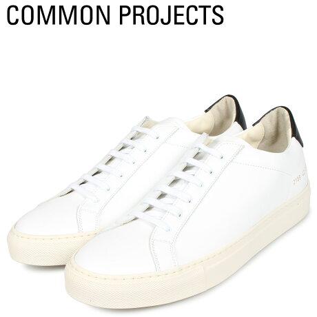 コモンプロジェクト Common Projects レトロ ロー スニーカー メンズ RETRO LOW ホワイト 白 2199-0506 [予約商品 10/18頃入荷予定 新入荷]