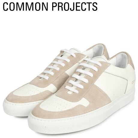 コモンプロジェクト Common Projects ビーボール ロー プレミアム スニーカー メンズ BBALL LOW PREMIUM ホワイト 白 2226-0506 [予約商品 10/18頃入荷予定 新入荷]