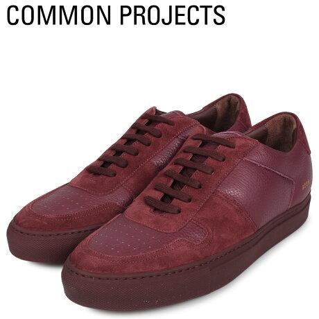 コモンプロジェクト Common Projects ビーボール ロー プレミアム スニーカー メンズ BBALL LOW PREMIUM ワインレッド 2226-3497 [予約商品 10/18頃入荷予定 新入荷]