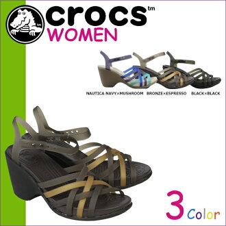 15 392 革條幫平底涼鞋楔 W 輕大規模鱷魚鱷魚女裝華萊士楔楔涼鞋涼鞋 3 色