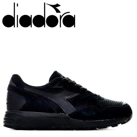 ディアドラ Diadora ニュートラ 9002 スニーカー メンズ N9002 ブラック 黒 173073-7124 [予約商品 10/11頃入荷予定 新入荷]