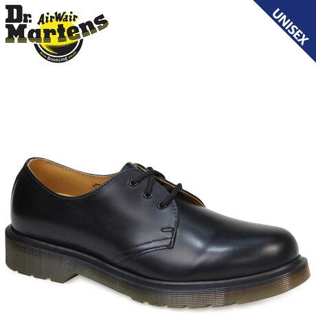 Dr.Martens 3ホール 1461 PW メンズ レディース ドクターマーチン オックスフォード シューズ 3EYELET SHOE R11839002 ブラック
