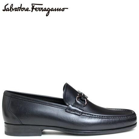 Salvatore Ferragamo 靴 メンズ フェラガモ ビットローファー モカシン シューズ GRANDIOSO ブラック 29392 647705 [5/17 新入荷]