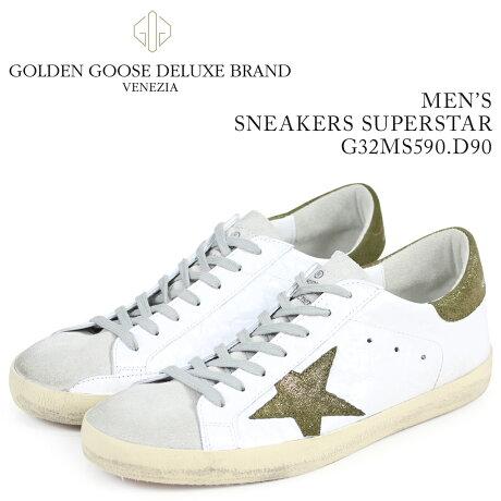 Golden Goose ゴールデングース スニーカー メンズ スーパースター SNEAKERS SUPERSTAR ホワイト G32MS590 E52 [予約商品 3/15頃入荷予定 新入荷]