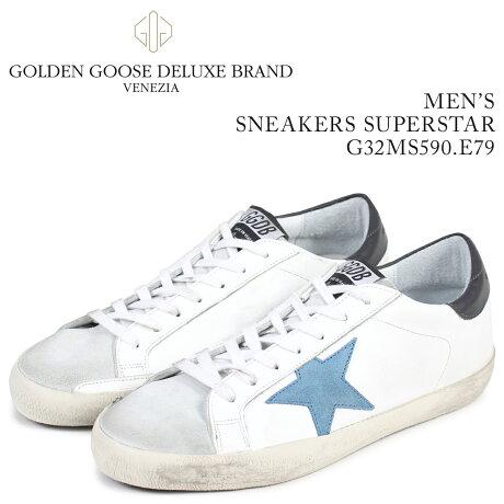 Golden Goose ゴールデングース スニーカー メンズ スーパースター SNEAKERS SUPERSTAR ホワイト G32MS590 E79 [予約商品 3/15頃入荷予定 新入荷]