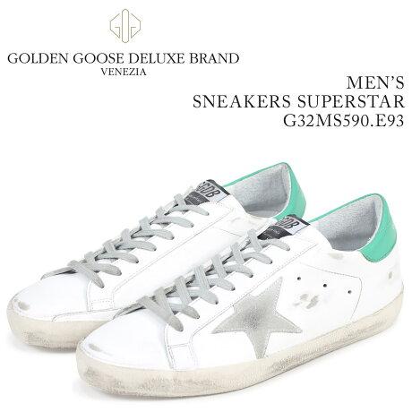 Golden Goose ゴールデングース スニーカー メンズ スーパースター SNEAKERS SUPERSTAR ホワイト G32MS590 E93 [予約商品 3/15頃入荷予定 新入荷]