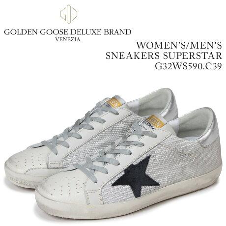 Golden Goose ゴールデングース スニーカー レディース メンズ スニーカーズ スーパースター SNEAKERS SUPERSTAR ホワイト G32WS590 C39 [5/19 新入荷]