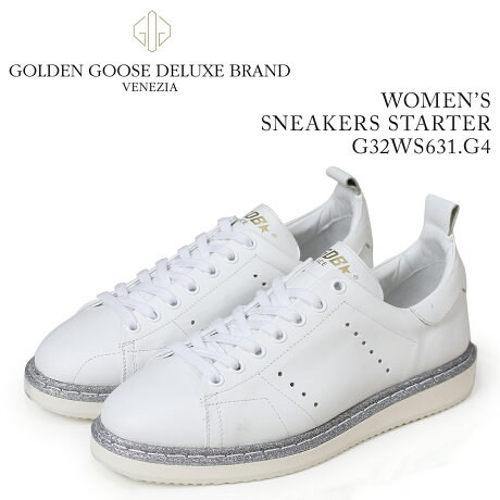 Golden Goose ゴールデングース スニーカー レディース スニーカーズ スターター SNEAKERS STARTER ホワイト G32WS631 G4 [5/19 新入荷]