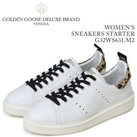 Golden Goose ゴールデングース スニーカー レディース スニーカーズ スターター SNEAKERS STARTER ホワイト G32WS631 M2 [5/19 新入荷]