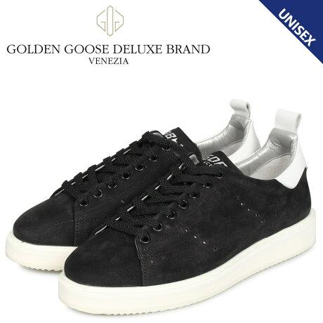 ゴールデングース Golden Goose スターター スニーカー メンズ レディース STARTER ブラック 黒 G35WS631 R1 [10/10 新入荷]