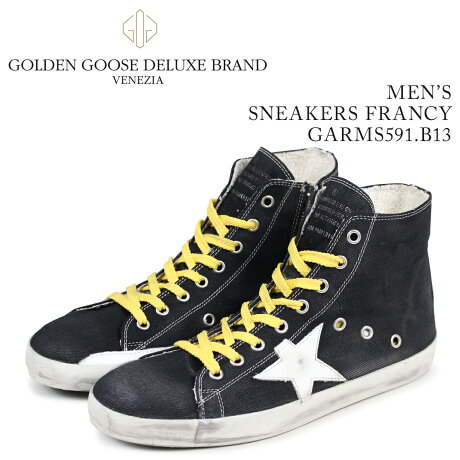 Golden Goose ゴールデングース スニーカー メンズ フランシー SNEAKERS FRANCY ブルー GARMS591 B13 [予約商品 3/15頃入荷予定 新入荷]