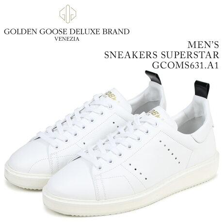Golden Goose ゴールデングース スニーカー メンズ スターター STARTER ホワイト GCOMS631 A1 [予約商品 3/15頃入荷予定 新入荷]