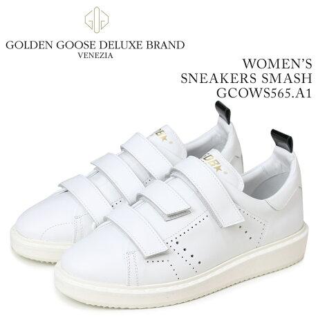 Golden Goose ゴールデングース スニーカー レディース スニーカーズ スマッシュ SNEAKERS SMASH ホワイト GCOWS565 A1 [5/19 新入荷]