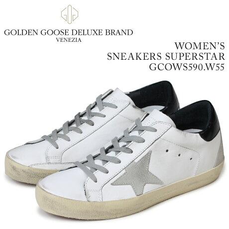 Golden Goose ゴールデングース スニーカー レディース スニーカーズ スーパースター SNEAKERS SUPERSTAR ホワイト GCOWS590 W55 [5/19 新入荷]