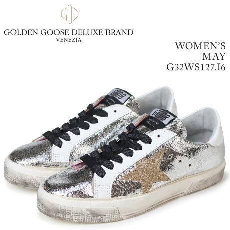Golden Goose ゴールデングース スニーカー レディース メイ MAY シルバー G32WS127 I6 [5/19 新入荷]
