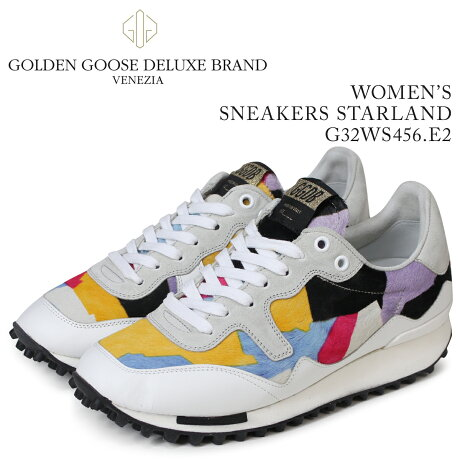 Golden Goose ゴールデングース スニーカー レディース スニーカーズ スターランド SNEAKERS STARLAND ホワイト G32WS456 E2 [5/19 新入荷]