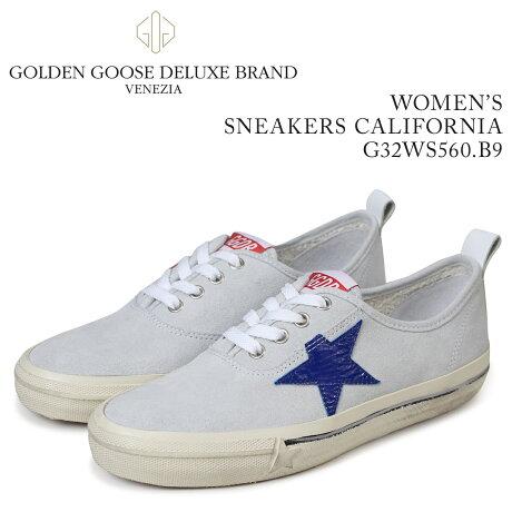 Golden Goose ゴールデングース スニーカー レディース スニーカーズ カリフォルニア SNEAKERS CALIFORNIA ホワイト G32WS560 B9 [5/19 新入荷]
