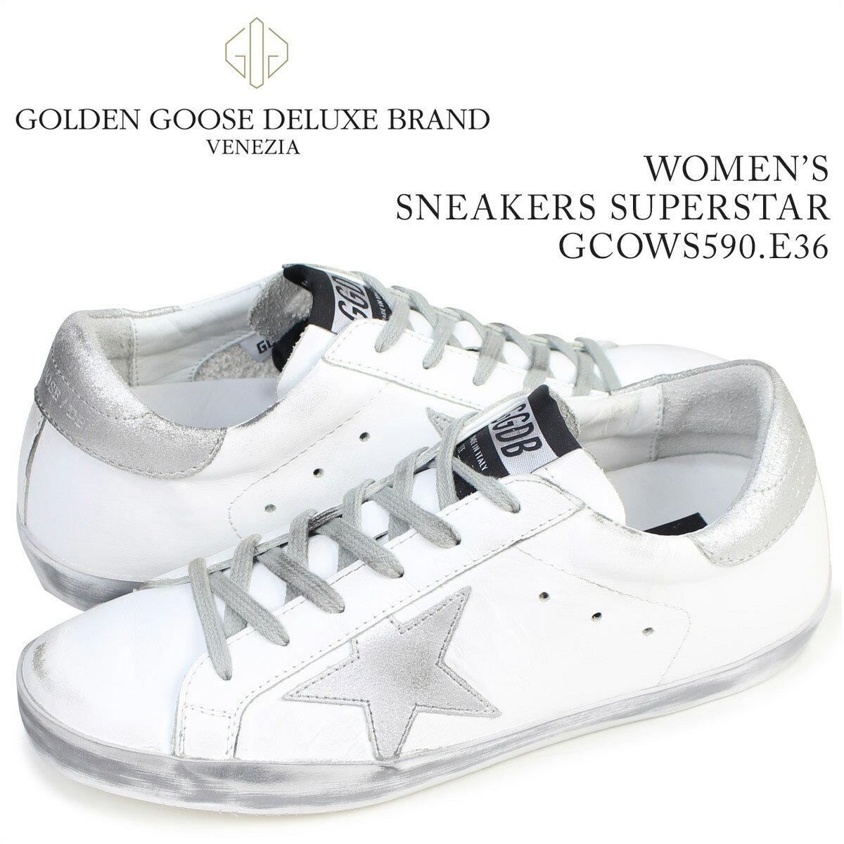 ゴールデングース Golden Goose スニーカー レディース スーパースター  SNEAKERS SUPERSTAR  イタリア製 GCOWS590 E36 靴 ホワイト [7/19 新入荷]:シュガーオンラインショップ