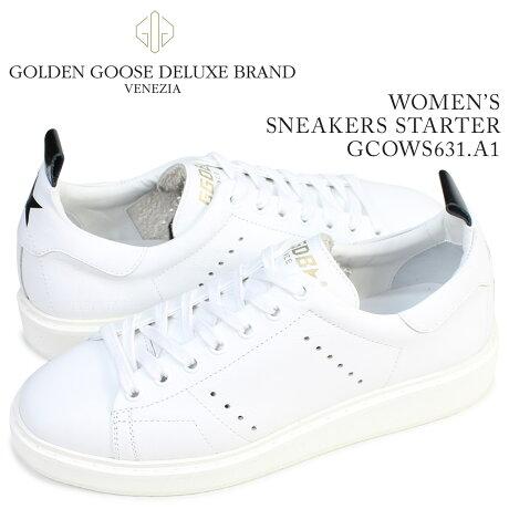 ゴールデングース Golden Goose スニーカー レディース スターター SNEAKERS STARTER イタリア製 GCOWS631 A1 靴 ホワイト [5/19 再入荷]
