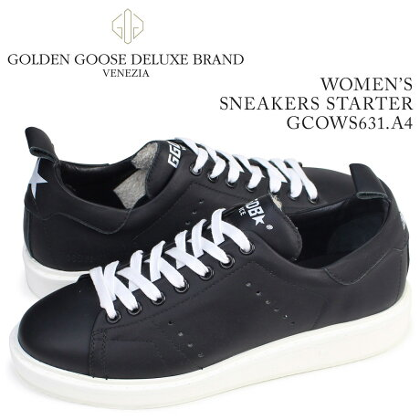 ゴールデングース Golden Goose スニーカー レディース スターター SNEAKERS STARTER イタリア製 GCOWS631 A4 靴 ブラック [5/19 追加入荷]