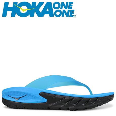 HOKA ONEONE ホカオネオネ サンダル リカバリー メンズ ORA RECOVERY FLIP ブルー 1018352 [7/6 新入荷]