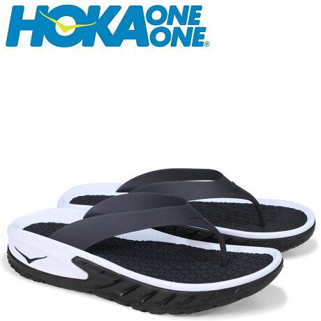 HOKA ONEONE ホカオネオネ サンダル リカバリー メンズ ORA RECOVERY FLIP ブラック 1018352 [7/6 新入荷]