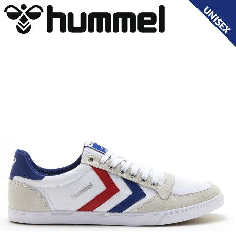 ヒュンメル hummel スリマー スタディール ロー キャンバス スニーカー メンズ レディース SLIMMER STADIL LOW CANVAS ホワイト 白 HM63112K-9228 [予約商品 10/15頃入荷予定 新入荷]
