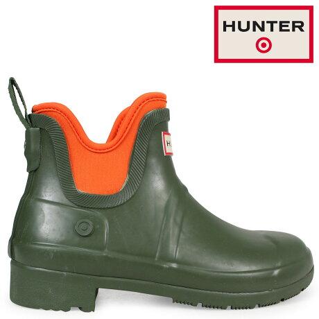 ハンター HUNTER レインブーツ 長靴 ショート レディース ターゲット TARGET WOMENS WATERPROOF ANKLE BOOTS オリーブ 53023475 [5/16 追加入荷]