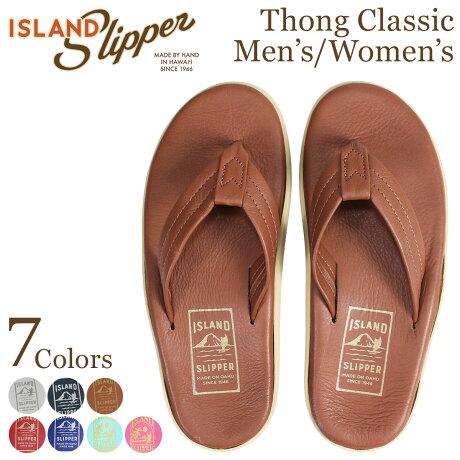 ISLAND SLIPPER アイランドスリッパ メンズ レディース クラシック サンダル トングサンダル レザー THONG CLASSIC PT202 [7/4 追加入荷]