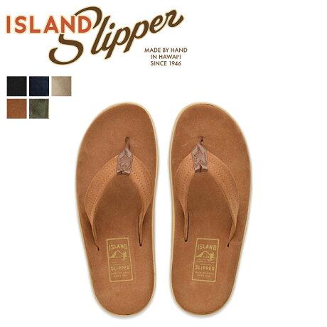 アイランドスリッパ ISLAND SLIPPER メンズ サンダル トングサンダル スエード ULTIMATE SUEDE ネイビー ベージュ オリーブ PT203SL [7/4 追加入荷]