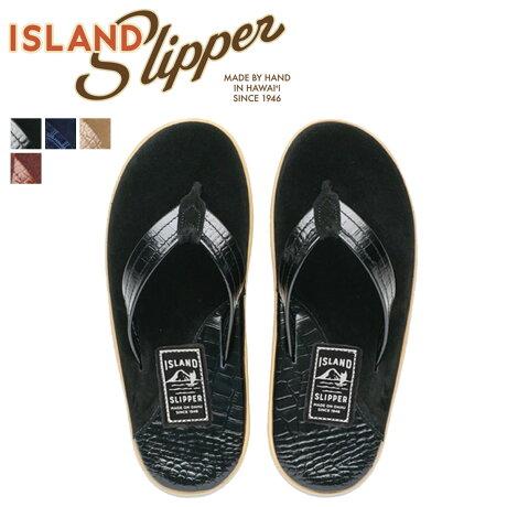 アイランドスリッパ ISLAND SLIPPER メンズ サンダル トングサンダル スエード レザー LEATHER SUEDE ネイビー PT205 [7/4 追加入荷]