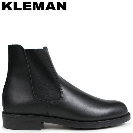 KLEMAN クレマン BAULANI 靴 サイドゴア ブーツ SIDE GORE BOOTS ブラック VA71102 [予約商品 9/10頃入荷予定 新入荷]