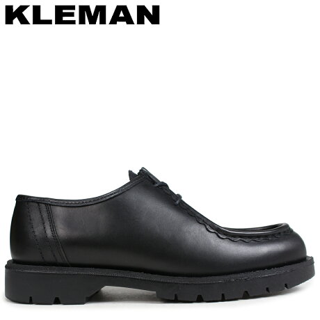 KLEMAN クレマン PADROR 靴 チロリアン シューズ TYROLEAN SHOES ブラック VA72102 [予約商品 9/10頃入荷予定 新入荷]