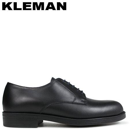KLEMAN クレマン PASTANI 靴 プレーントゥ シューズ PLAIN TOE SHOES ブラック VA73102 [予約商品 9/10頃入荷予定 新入荷]