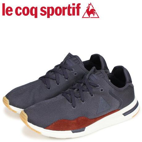 ルコック スポルティフ le coq sportif メンズ スニーカー ソラス クラフト SOLAS CRAFT LEA グレー 1810142 [予約商品 9/18頃入荷予定 新入荷]