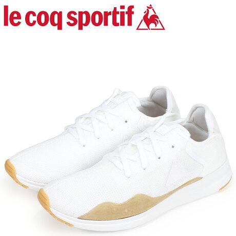 ルコック スポルティフ le coq sportif メンズ スニーカー ソラス クラフト SOLAS CRAFT LEA ホワイト 1810145 [予約商品 9/18頃入荷予定 新入荷]