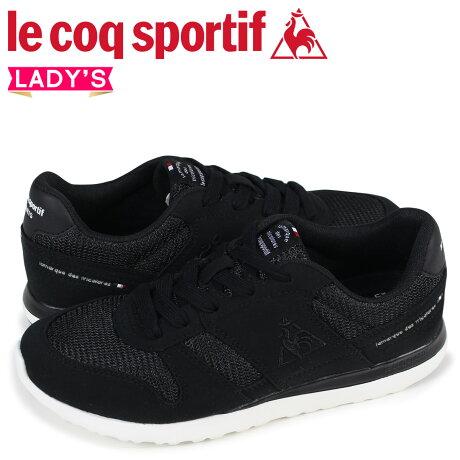 ルコック スポルティフ le coq sportif レディース スニーカー LA セーヌ SEINE ブラック QFM-7303BB [予約商品 9/8頃入荷予定 追加入荷]