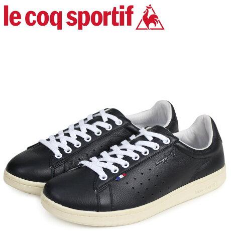 ルコック スポルティフ le coq sportif メンズ スニーカー LA ローラン LE+ ROLAND ブラック QL1LJC15BK [3/1 新入荷]