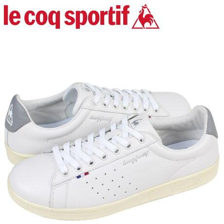 ルコック スポルティフ le coq sportif メンズ スニーカー LA ローラン LE + ROLAND ホワイト QL1LJC15WG [予約商品 6/13頃入荷予定 追加入荷]